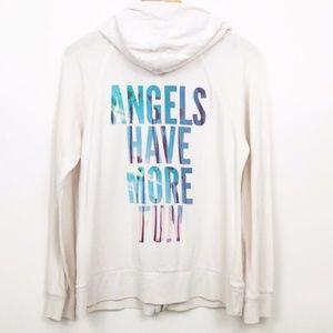 "Victoria's Secret ""Angels Have More Fun"" hoodie"